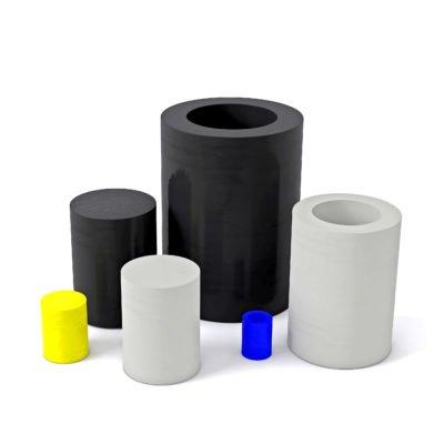 Halbzeuge aus unterschiedlichen Materialien